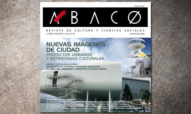 ÁBACO 97. Nuevas imágenes de ciudad. Proyectos urbanos y estrategias culturales
