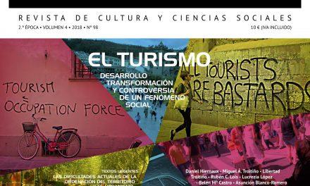 El Turismo. Desarrollo, transformación y controversia de un fenómeno social en el número 98 de la revista Ábaco
